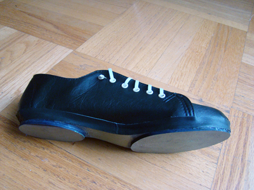 Handmade shoes, by Natalie Purschwitz, Makeshift project