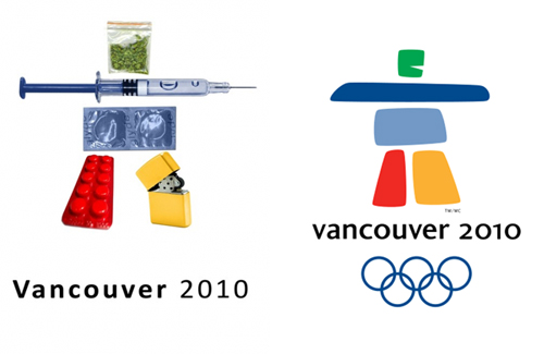 Corey Rollins 2010+Drugs Olympic poster