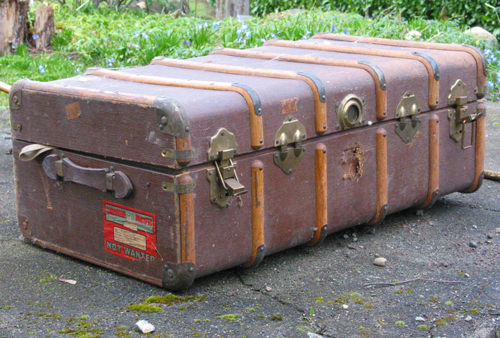 Ralph's trunk