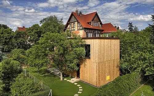 Polish Modern house, Wroclaw, Poland