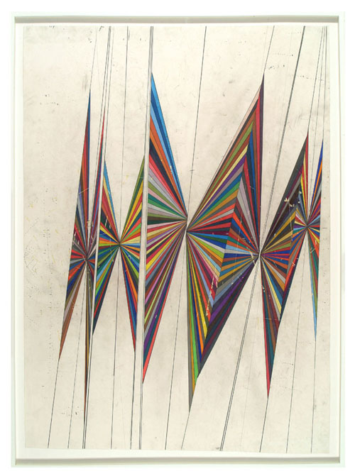 mark grotjahn, butterfly