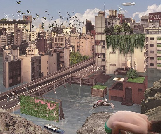 After the Flood - New York and Tokyo