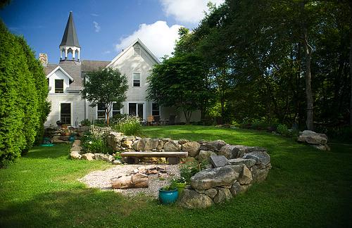 Converted Church by Alyn Carlson, Westport MA, photo by Paul Clancy