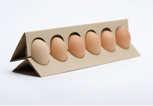 Ouno design new egg carton design by hungarian design for Design your own egg boxes