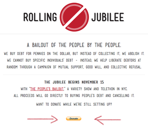 Occupy Wall Street, Occupy Sandy, now Rolling Jubilee