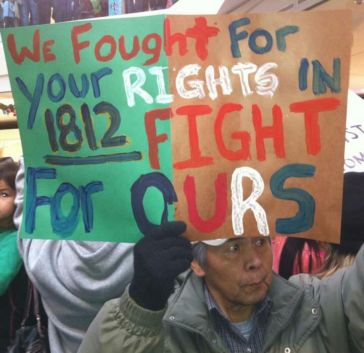 We fought for your rights in 1812: Fight for Ours