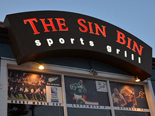 Sin Bin Sports Bar Vancouver