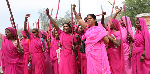 India gang of vigilante women punishing abusers