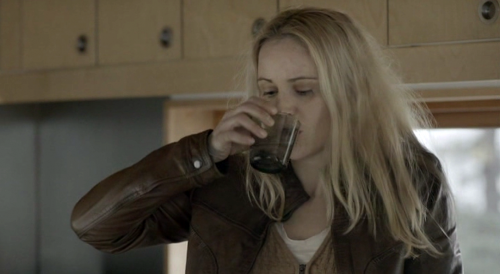 The Bridge (Bron/Broen) Sofia Helin as Det. Saga Noren