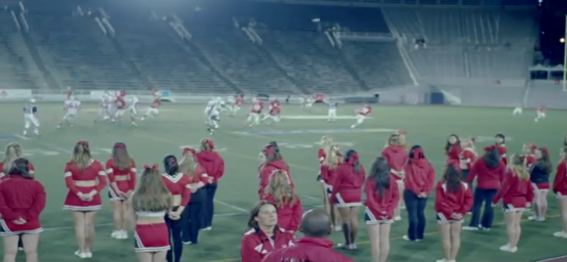 "Montreal stadium from Grimes video ""Oblivion"""