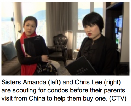 Mac Marketing poses own employees as condo buyers with backing of parents from China