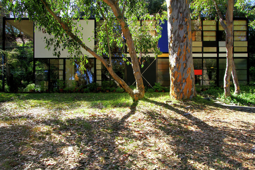 Eames House - Case Study House by Krista Jahnke