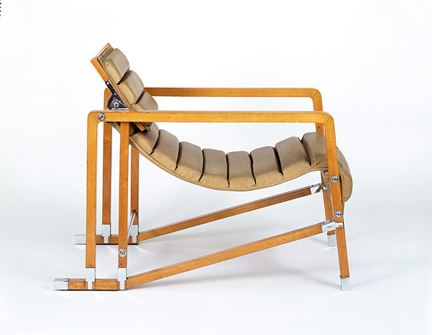 Transat Chair, by Eileen Gray. Paris, France, 1926