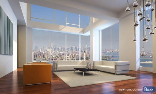 New York condo penthouse