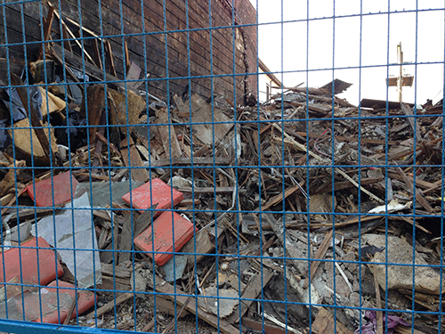 Powell Street demolition