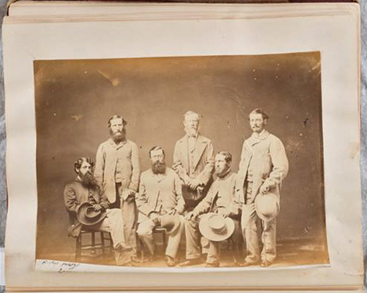 Bearded men Vancouver 1859-60