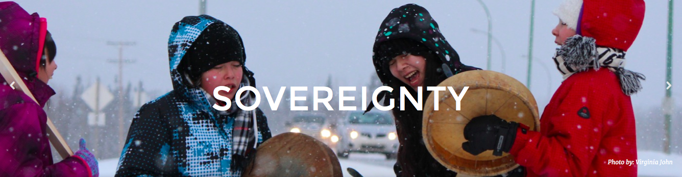 Idle No More - sovereignty