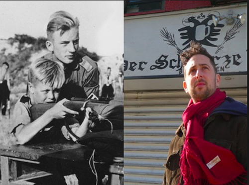 hitler youth haircut then & now