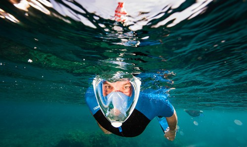 masque-facial-snorkeling-easybreath-innovation by Tribord
