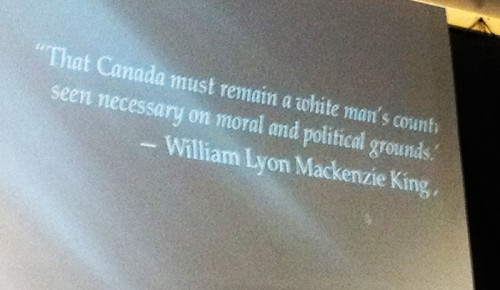white supremacist quote, William Lyon Mackenzie King