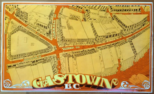 Gastown Poster by Massei Matheson