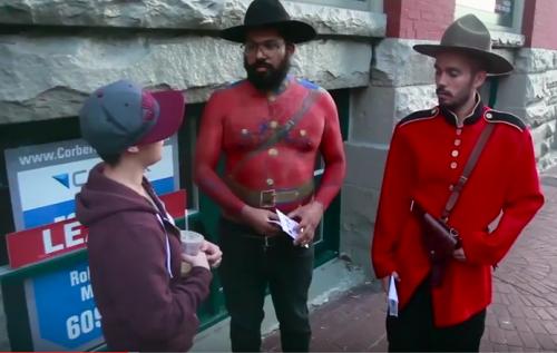 Whoa Canada - mounties