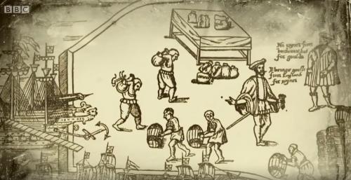 Tudor slaves