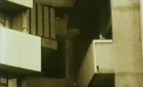 60s brutalist highrise life