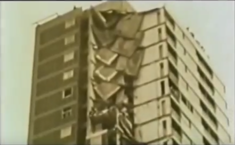 Tower Collapse East London