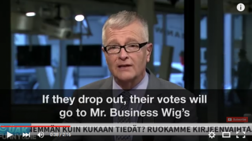 Mr Business Wig