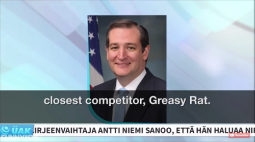 Greasy Rat (Ted Cruz)