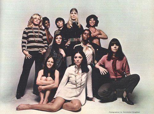 Female cast members of Hair on Broadway 1968 - in Esquire Mag