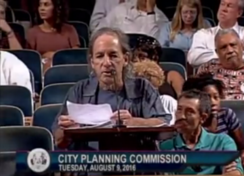 HarryShearer of the Simpsons argues against AirBnB at New Orleans City Hall